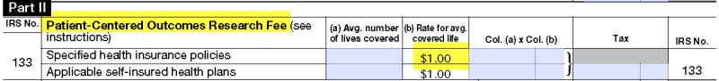 IRS 133 Form 720